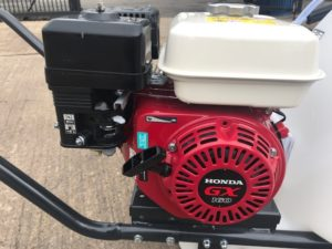 Self contained Honda mobile pressure washer on trolley 150 bar