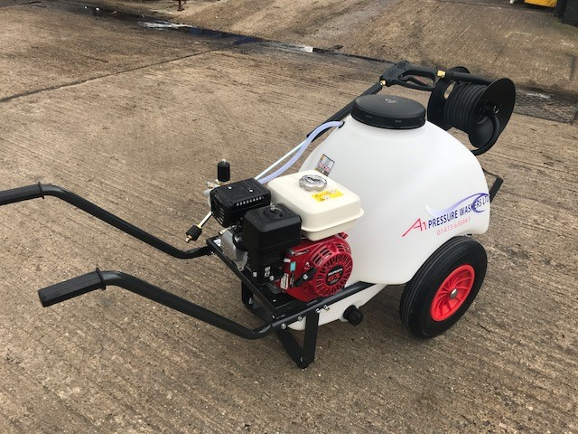 Self Contained Honda Mobile Pressure Waser On Trolley A1