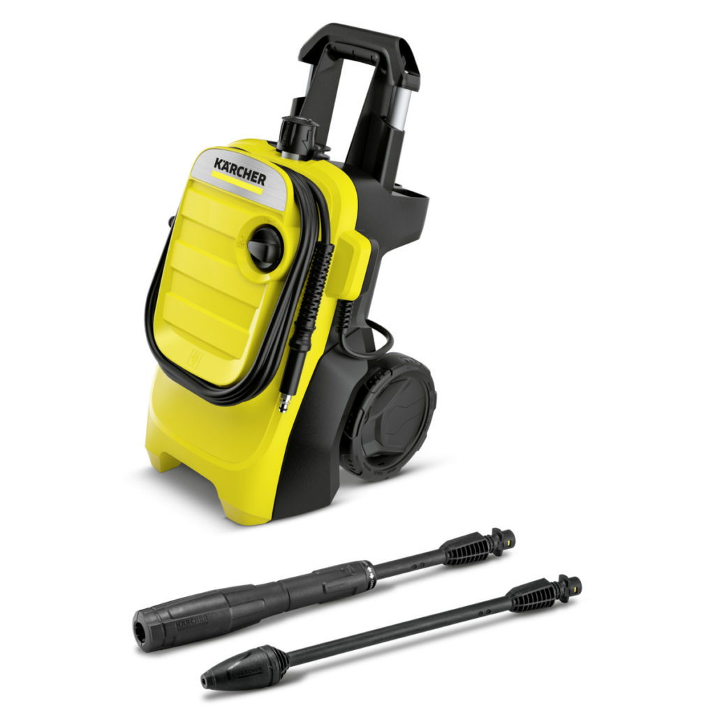 Karcher Pressure Washer - Cleaning Patio Slabs